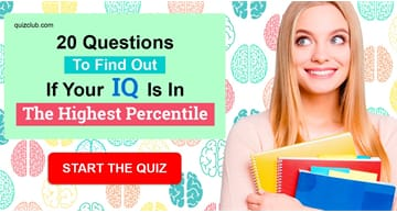IQ Quiz Test: 20 Questions To Find Out If Your IQ Is In The Highest Percentile