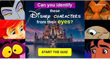 Movies & TV Quiz Test: Can You Identify These Disney Characters From Their Eyes?