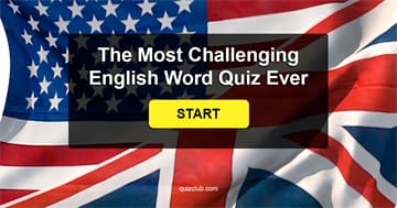 IQ Quiz Test: Can You Pass The Most Challenging English Word Quiz Ever?