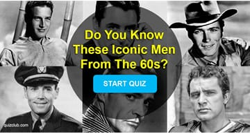 Movies & TV Quiz Test: Do You Know These Iconic Men From The 60s?