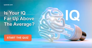 IQ Quiz Test: Is Your IQ Far Up Above The Average?