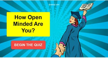 IQ Quiz Test: How Open Minded Are You?