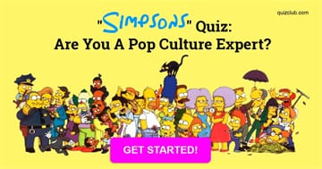 "Movies & TV Quiz Test: ""Simpsons"" Quiz: Are You A Pop Culture Expert?"