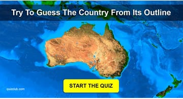 Geography Quiz Test: Try To Guess The Country From Its Outline