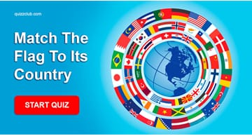 Geography Quiz Test: Can you guess the countries by their flags?