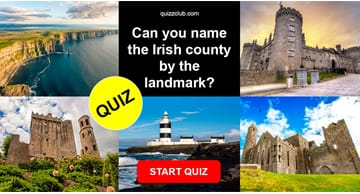 Geography Quiz Test: Can you name the Irish county by the landmark?
