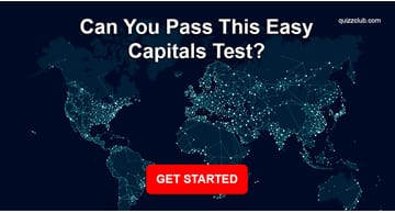 Geography Quiz Test: Can You Pass This Easy Capitals Test?