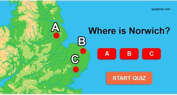 Geography Quiz Test: Can you place these cities on a map of England?
