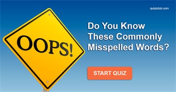 language Quiz Test: Do You Know these commonly misspelled words?