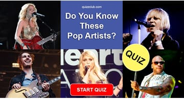 music Quiz Test: Do You Know These Pop Artists?