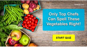 language Quiz Test: Only Top Chefs Can Spell These Vegetables Right!