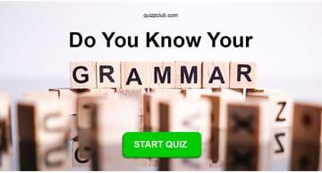 language Quiz Test: Do You Know Your Grammar?