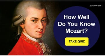 music Quiz Test: How Well Do You Know Mozart?