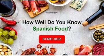 knowledge Quiz Test: How well do you know Spanish food?