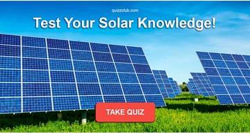 Science Quiz Test: Test Your Solar Knowledge!