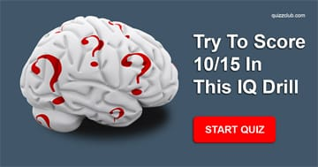 IQ Quiz Test: Try To Score 10/15 In This IQ Drill