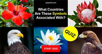 Geography Quiz Test: What countries are these symbols associated with?
