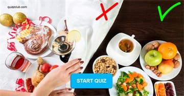 health Quiz Test: Healthy Eating Quiz