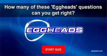 Movies & TV Quiz Test: How many of these 'Eggheads' questions can you get right?