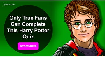 Movies & TV Quiz Test: Only True Fans Can Complete This Harry Potter Quiz