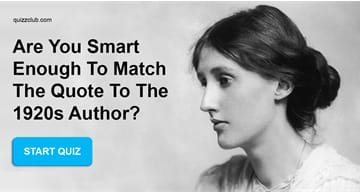 knowledge Quiz Test: Are You Smart Enough to Match the Quote to the 1920s Author?