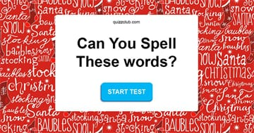 funny Quiz Test: Only 1 In 9 Adults Can Spell Each Of These Super Common Holiday Words Correctly!