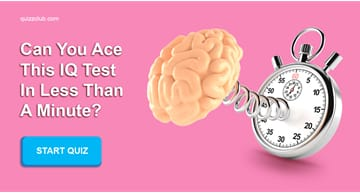IQ Quiz Test: Can You Ace This IQ Test In Less Than A Minute?