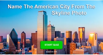 Geography Quiz Test: Name the American city from the skyline photo