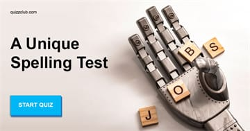 language Quiz Test: A Unique Spelling Test