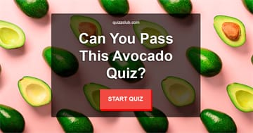 knowledge Quiz Test: Can You Pass This Avocado Quiz?