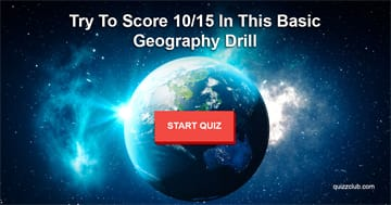 Geography Quiz Test: No One Can Score 10/15 In This Basic Geography Drill