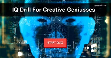 IQ Quiz Test: Pass This IQ Drill If You're Truly A Creative Genius