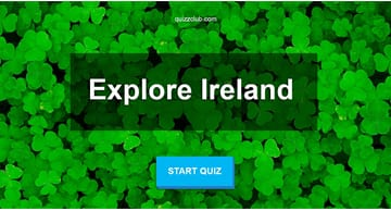 Geography Quiz Test: How Much Do You Know About Ireland?