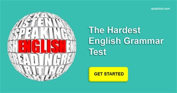language Quiz Test: The Hardest English Grammar Test