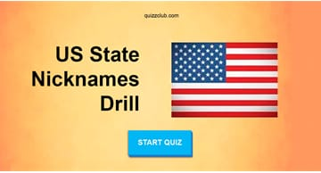 Geography Quiz Test: Score 20/20 In This US State Nicknames Drill