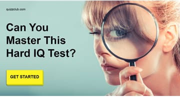 IQ Quiz Test: Only 1 In 20 people Can Master This Super Hard IQ Test