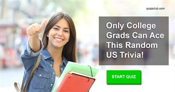 Culture Quiz Test: Only College Grads Can Ace This Random US Trivia!
