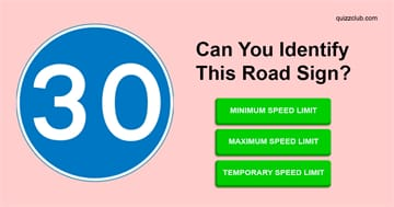 knowledge Quiz Test: Can you identify these most misunderstood road signs?