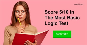 IQ Quiz Test: Can You Score 5/10 In The Most Basic Logic Test?