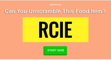funny Quiz Test: The Hardest Food Word Jumble You'll Ever Take