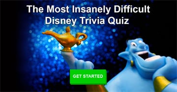 Movies & TV Quiz Test: The Most Insanely Difficult Disney Trivia Quiz