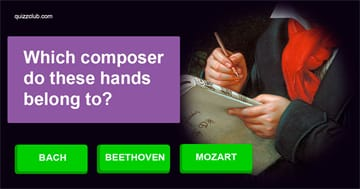music Quiz Test: Can You Guess The Composer From Their Hands?