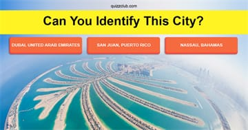Geography Quiz Test: Can you identify the city from above?