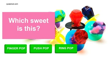 funny Quiz Test: Can you name these retro sweets?