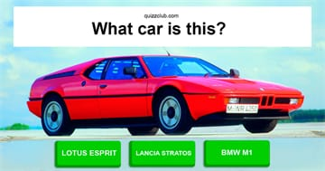 Culture Quiz Test: How many cars of the 1970s can you name?