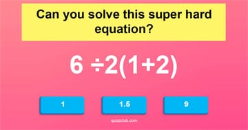 Science Quiz Test: Only A True Genius Can Solve These 10 Super Hard Equations!