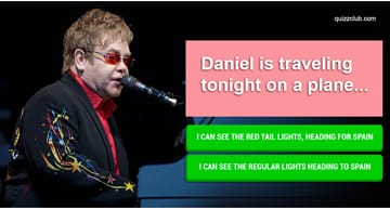 Movies & TV Quiz Test: Can You Finish The Lyrics To These Elton John Songs?