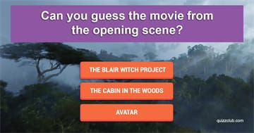 Movies & TV Quiz Test: Can you guess the movie from the opening scene?