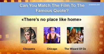 Culture Quiz Test: Can You Match The Film To The Famous Quote?