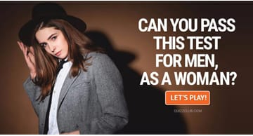 Movies & TV Quiz Test: Can You Pass This Test For Men, As A Woman?